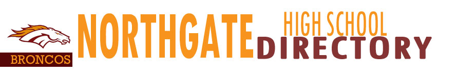 NORTHGATE HIGH SCHOOL - DIRECTORY